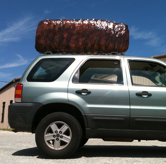 Giant Vehicle - Car Topper for advertising