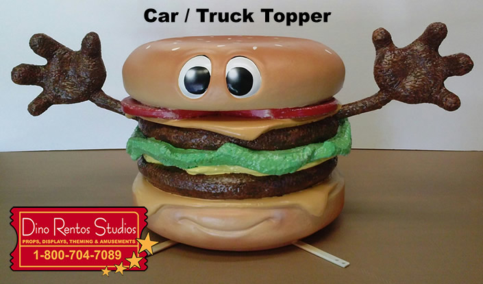 Giant Food Truck - Vehicle - Car Topper for advertising