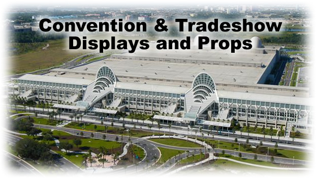 Convention and Tradeshow custom Props and Displays