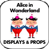 Alice in Wonderland Cardboard Cutout