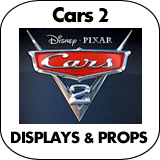 Cars 2 Cardboard Cutout Standup Props
