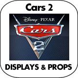 Cars 2 Cardboard Cutout Standup Props