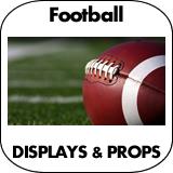 Football Cardboard Cutout Standup Props