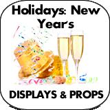 Holidays: New Years Cardboard Cutout