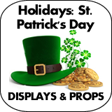Holidays: St. Patrick's Day Cardboard Cutouts
