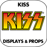 KISS Cardboard Cutout Standup Props