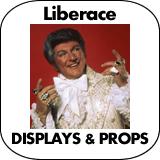 Liberace Cardboard Cutout Standup Props