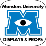 Monsters University Cardboard Cutout Standup Props
