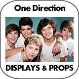 One Direction Cardboard Cutout Standup Props