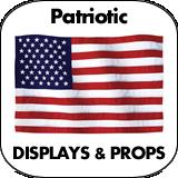 Patriotic & July 4th Cardboard Cutouts