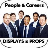 People & Careers Cardboard Cutouts