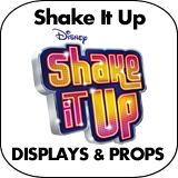 Shake It Up Cardboard Cutout Standup Props