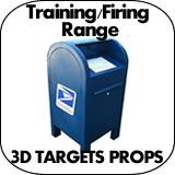 Training / Firing Range 3D Targets & Props