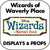 Wizards of Waverly Place Cardboard Cutout Standup Props