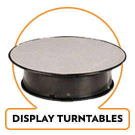 DISPLAY TURNTABLES