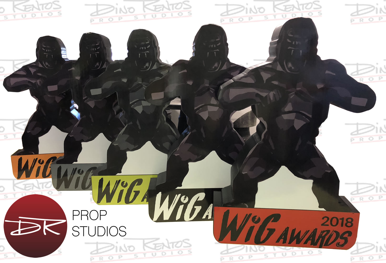 Print on Foam Gorillas for Tradeshows and Events