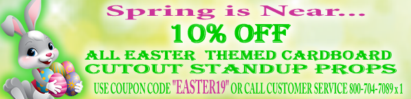 Easter Cardboard Cutout Discount