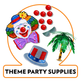 THEMED PARTY SUPPLIES AND DISPLAYS