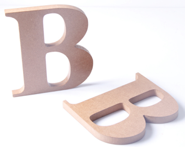 Custom Wood Letters & Numbers