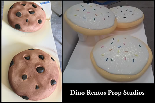 Giant Cookie Foam Prop