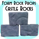 Castle Wall Rocks - Single Rock