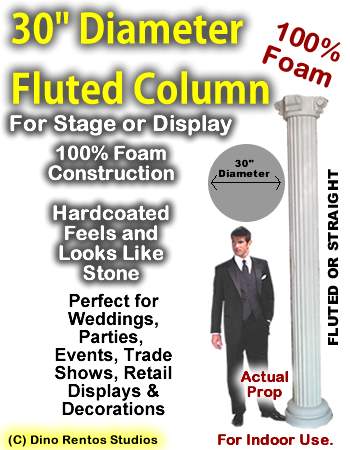 "Foam Column Prop 30"" Diameter"
