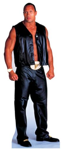 The Rock - WWE Cardboard Cutout Standup Prop