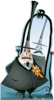 Mayor of Halloweentown - The Nightmare Before Christmas Cardboard Cutout Standup Prop
