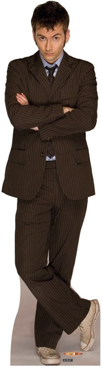 Doctor Who 2 - Doctor Who Cardboard Cutout Standup Prop