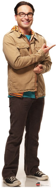 Leonard - The Big Bang Theory Cardboard Cutout Standup Prop