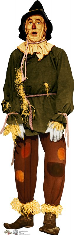 Scarecrow - 75th Anniversary - The Wizard of Oz Cardboard Cutout Standup Prop