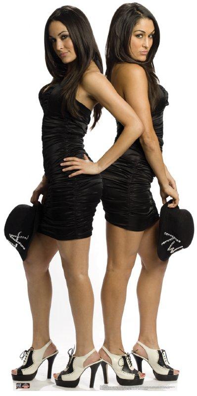 The Bella Twins - WWE Cardboard Cutout Standup Prop