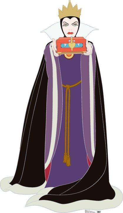 Evil Queen - Disney Villain Cardboard Cutout Standup Prop