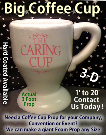 Custom Made Big Coffee Cup
