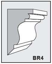BR4 - Architectural Foam Shape - Bracket