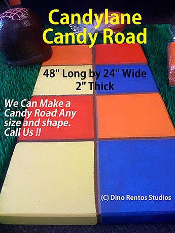 Candylane Candy Road Foam Prop