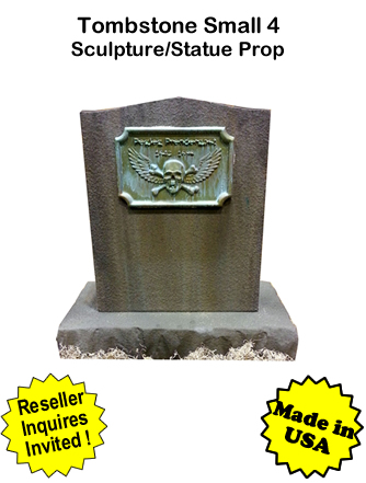 Tombstone Small 4 Sculpture Statue Prop