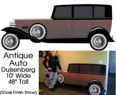 Duisenberg Classic Car Cardboard Cutout Standup Prop