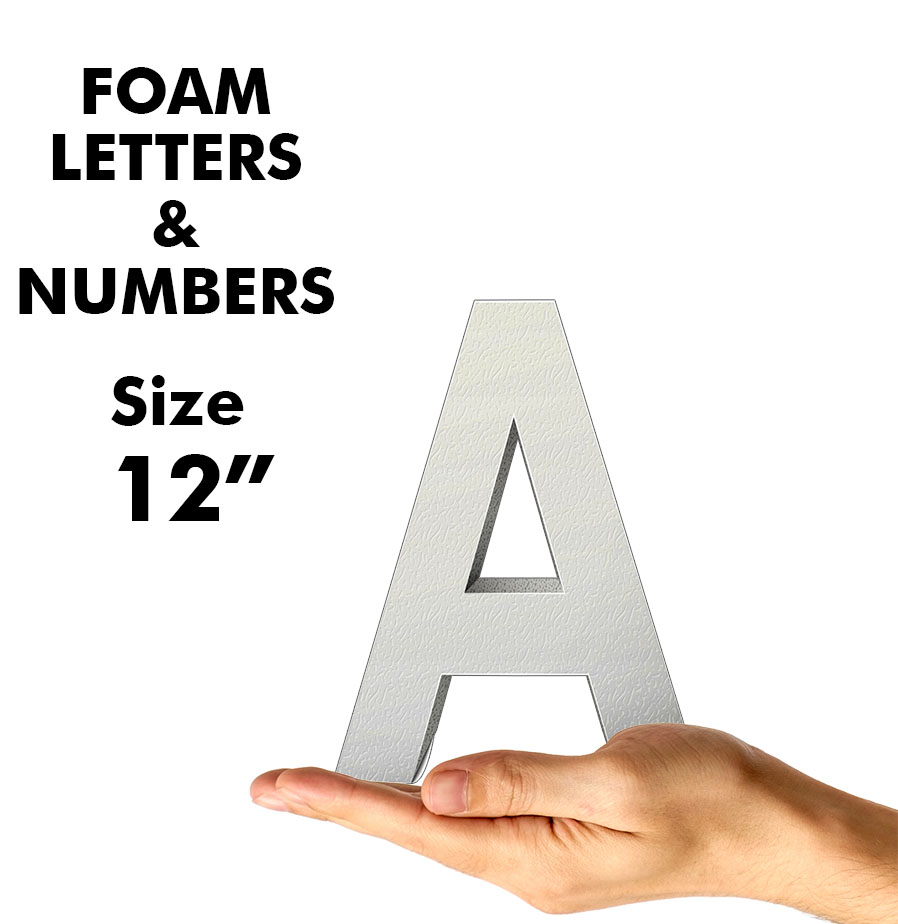 Letters & Numbers 12""