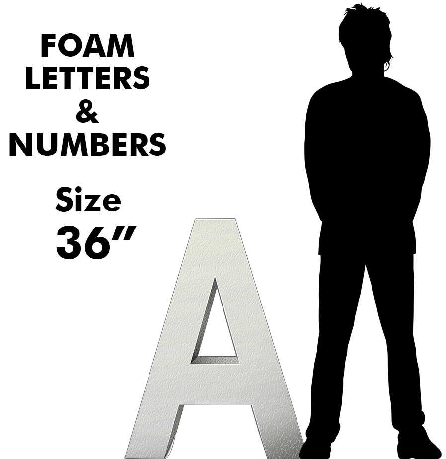 """Letters & Numbers 36"""""""