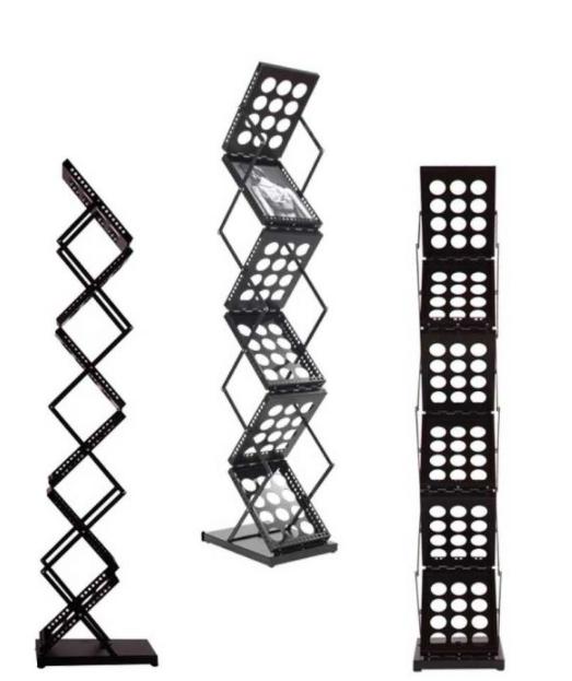 Folding Magazine Display Stand