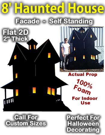 Giant Haunted House Foam Prop