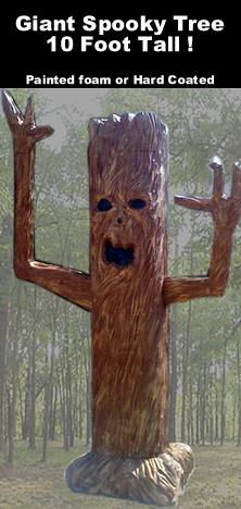 Giant 10 Foot Spooky Tree Foam Prop