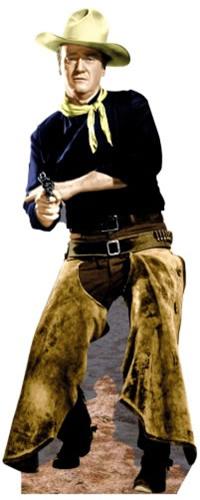 John Wayne With Chaps Cardboard Cutout/Standup