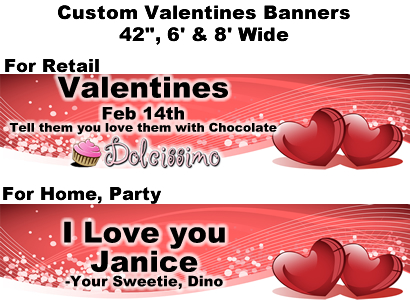 Valentine's Banner #1 - Custom Banner