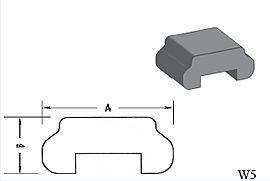 W5 - Architectural Foam Shape - Wall Cap