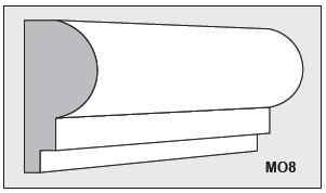 M08 - Architectural Foam Shape - Molding