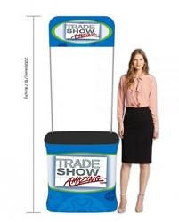 Rectangle Fabric Tension Promotion Counter