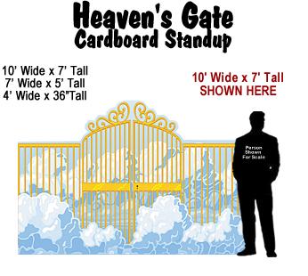 Heaven's Gate Cardboard Cutout Standup Prop
