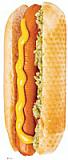 Hotdog Cardboard Standee